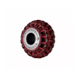 Swarovski crystal red round bead charm
